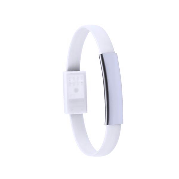 Chargeur Bracelet Leriam - Blanc