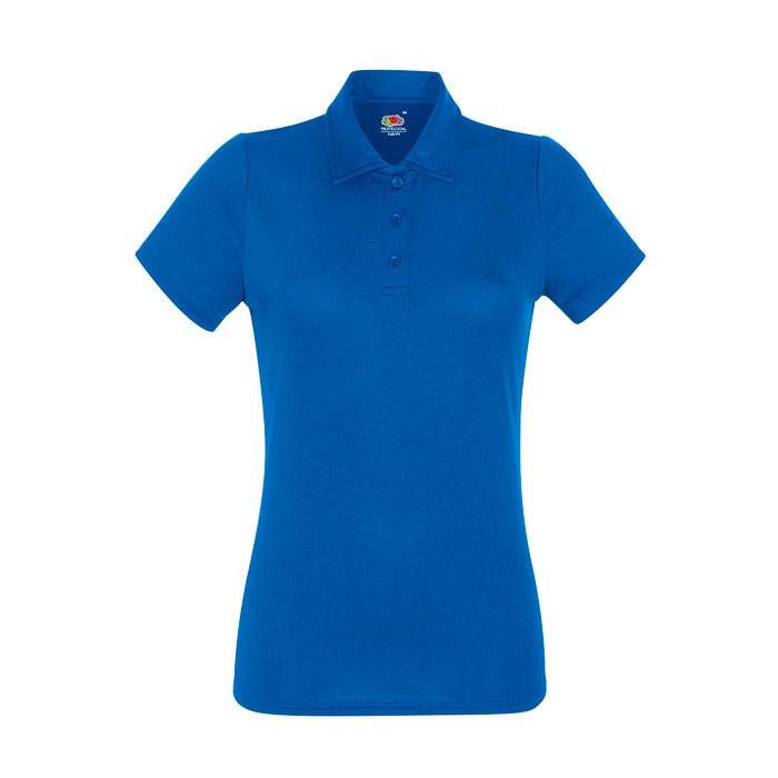 Dámské funkční polo tričko Lady-Fit Polo 63-040-0 - Royal / XS