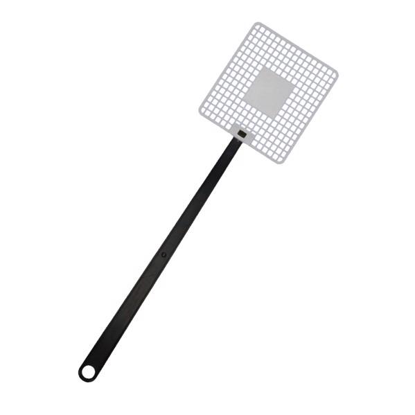 """Fly Swatter """"Logo"""" - White / Black"""