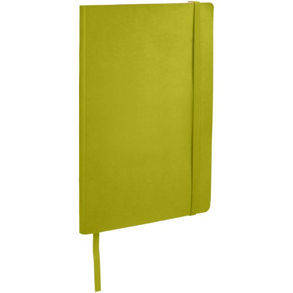 Classic A5 soft cover notebook - Lime