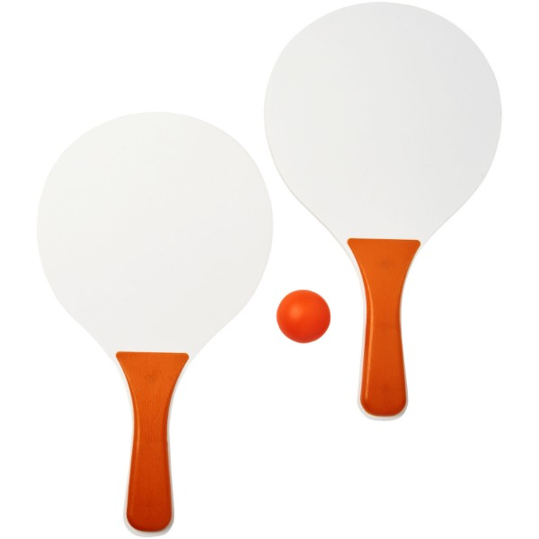 Bounce beach game set - Orange / White