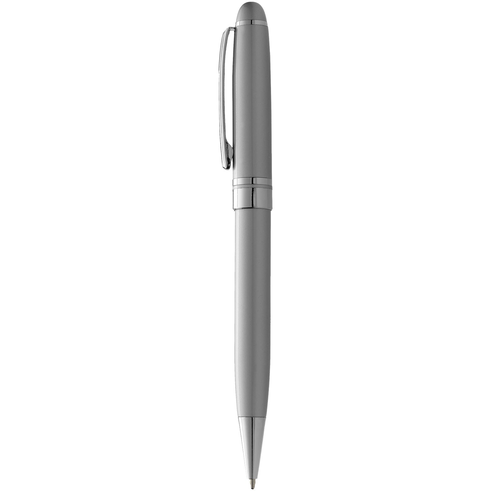 Kuličkové pero Bristol - Stříbrný