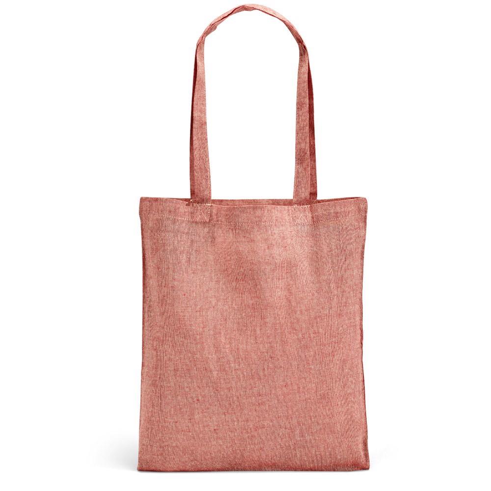 RYNEK. Bolsa de algodón reciclado - Rojo