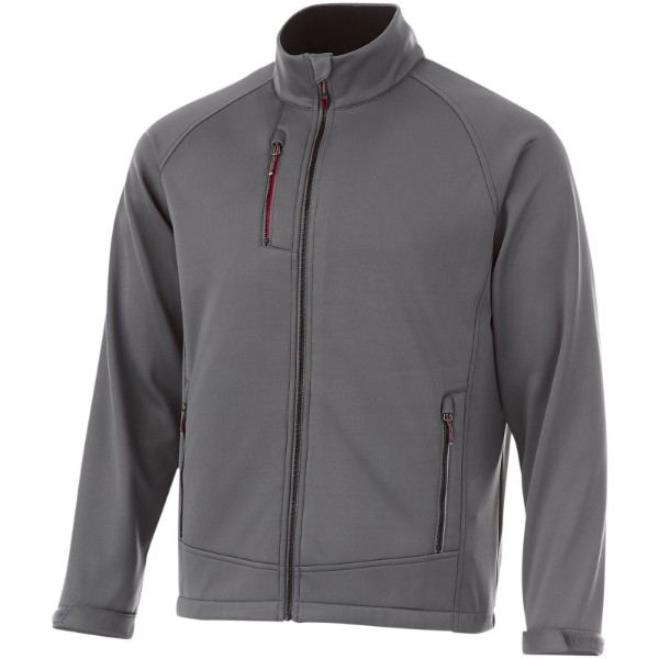 Chuck softshell jacket - Grey / S
