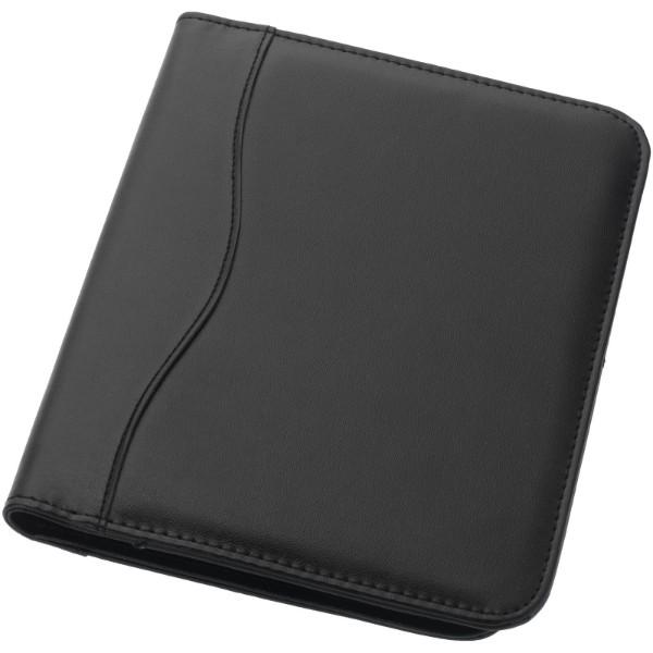 Ebony A5 portfolio - Solid black