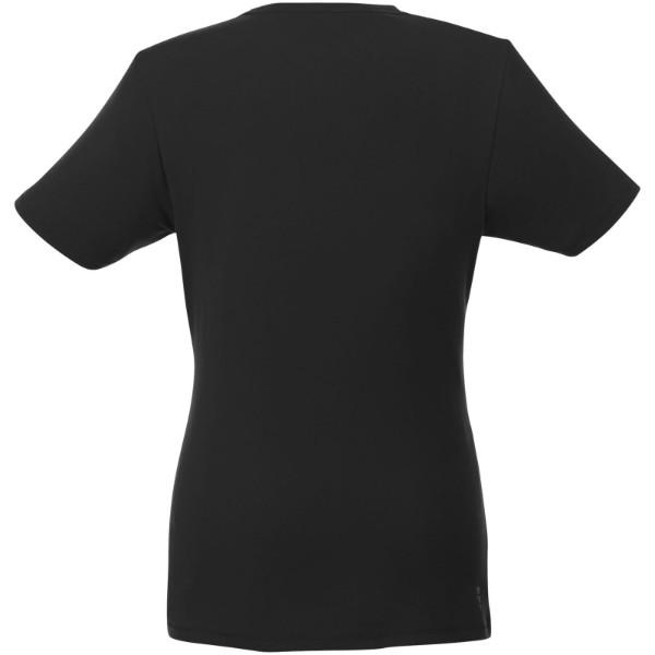 Balfour short sleeve women's GOTS organic t-shirt - Solid black / XXL