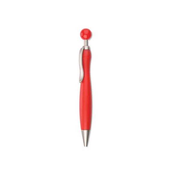 Ball pen with ball plunger Wimen - Red