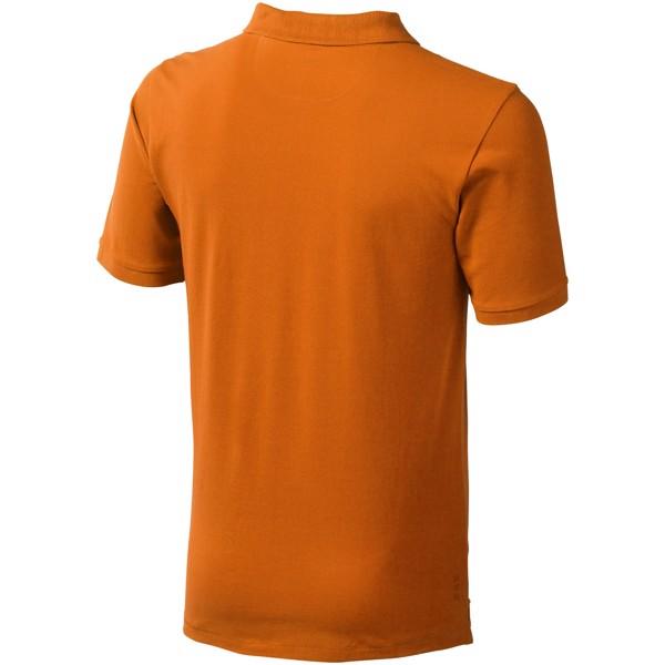 Calgary short sleeve men's polo - Orange / S