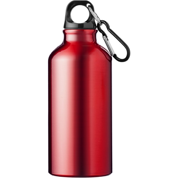 Oregon 400 ml sport bottle with carabiner - Red