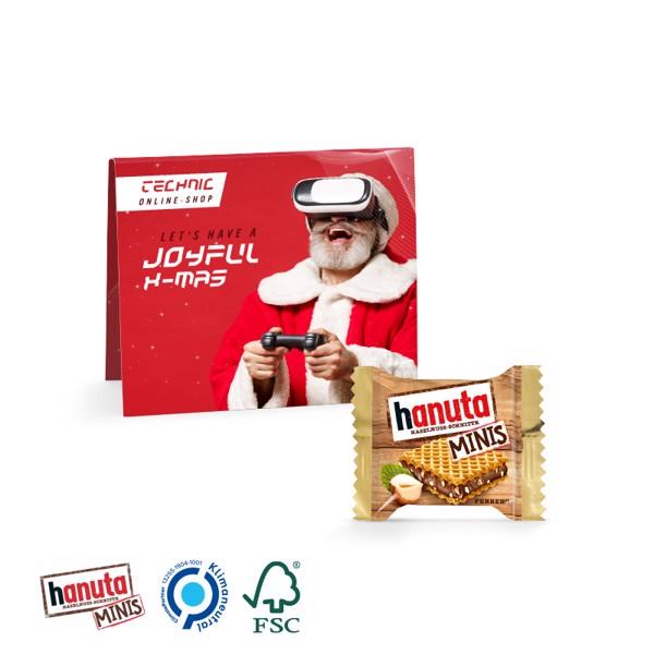 Promotion Card Midi Hanuta Mini - White