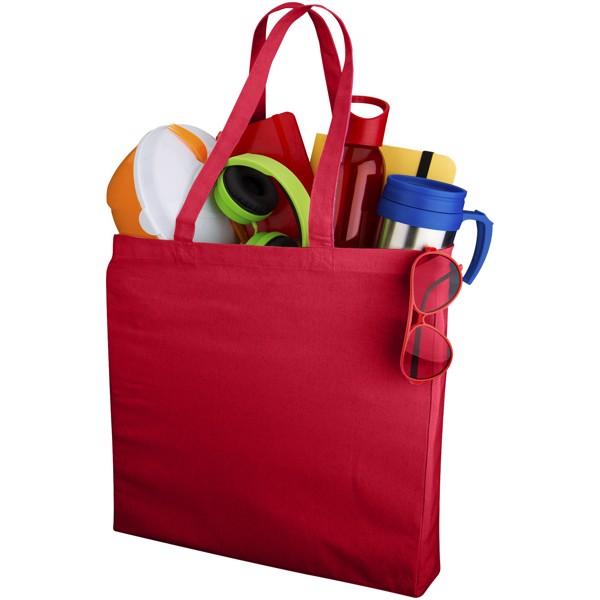 Odessa 220 g/m² cotton tote bag - Red