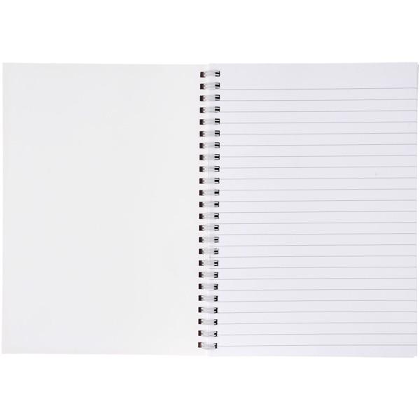 Poznámkový blok se syntetickými deskami Desk-Mate® A4 - Bílá