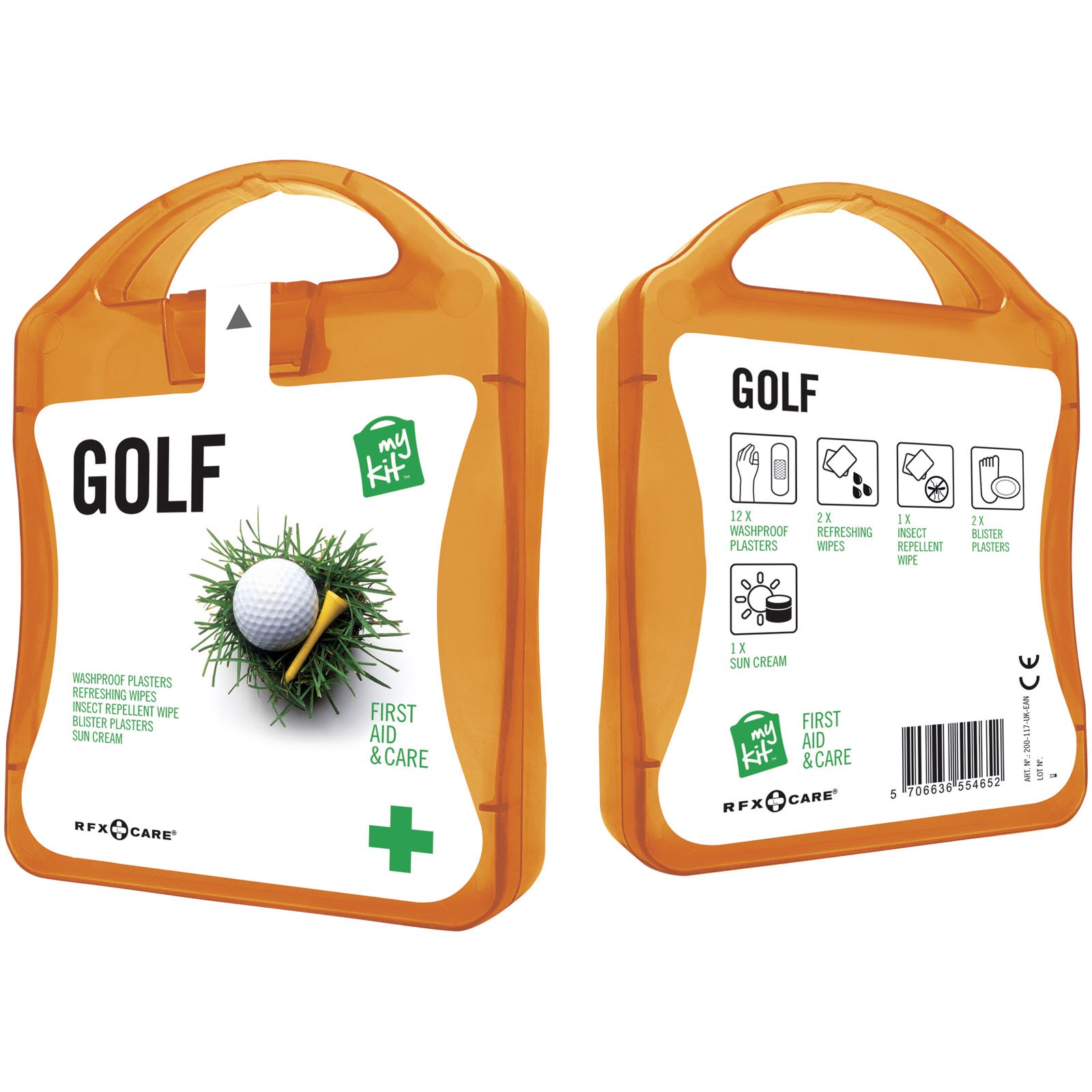 MyKit Golf First Aid - Orange