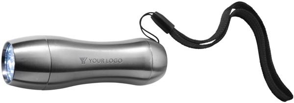 Aluminium pocket torch