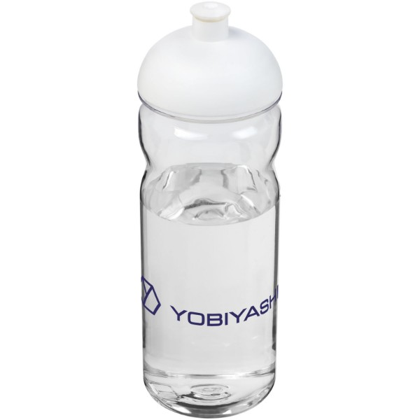 H2O Base Tritan™ 650 ml dome lid sport bottle - Transparent / White