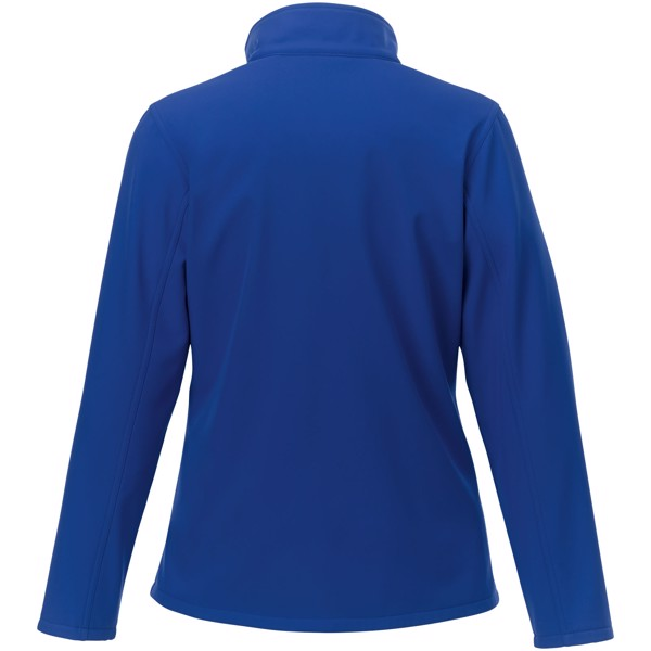 Orion women's softshell jacket - Blue / XL