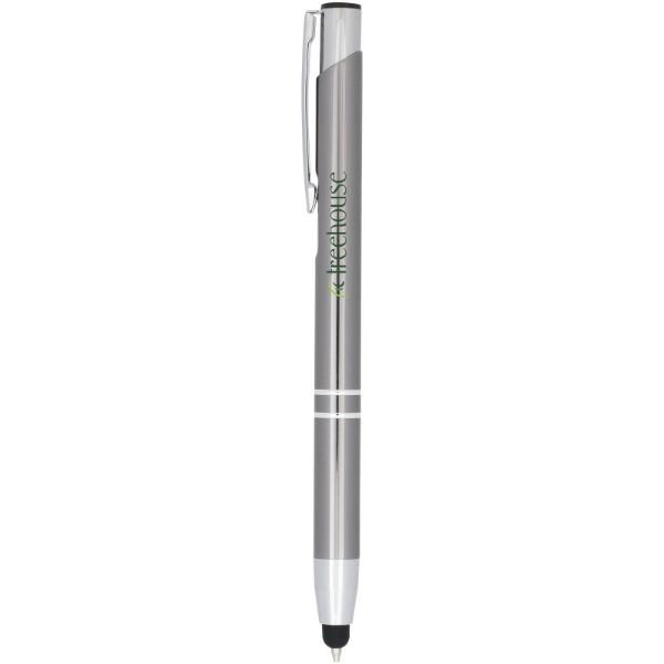 Kuličkové pero Moneta s kovovým úchopem - Gun Metal