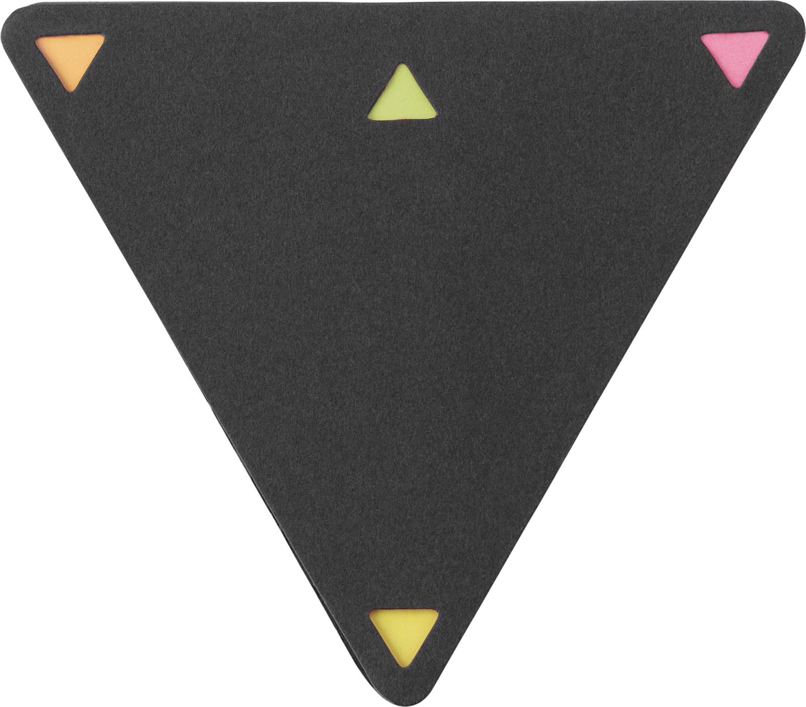 Soporte de papel y notas adhesivas - Black