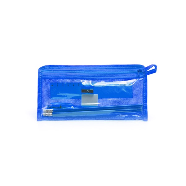 Pencil Case Set Baiku - Blue