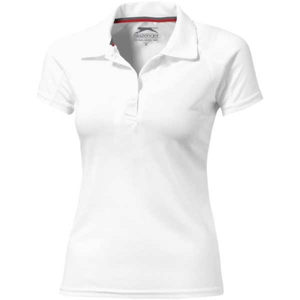 Game short sleeve women's cool fit polo - White / L