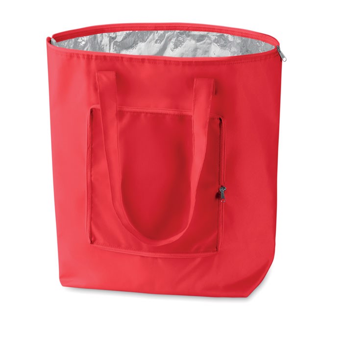 Składana torba chłodząca Plicool - czerwony