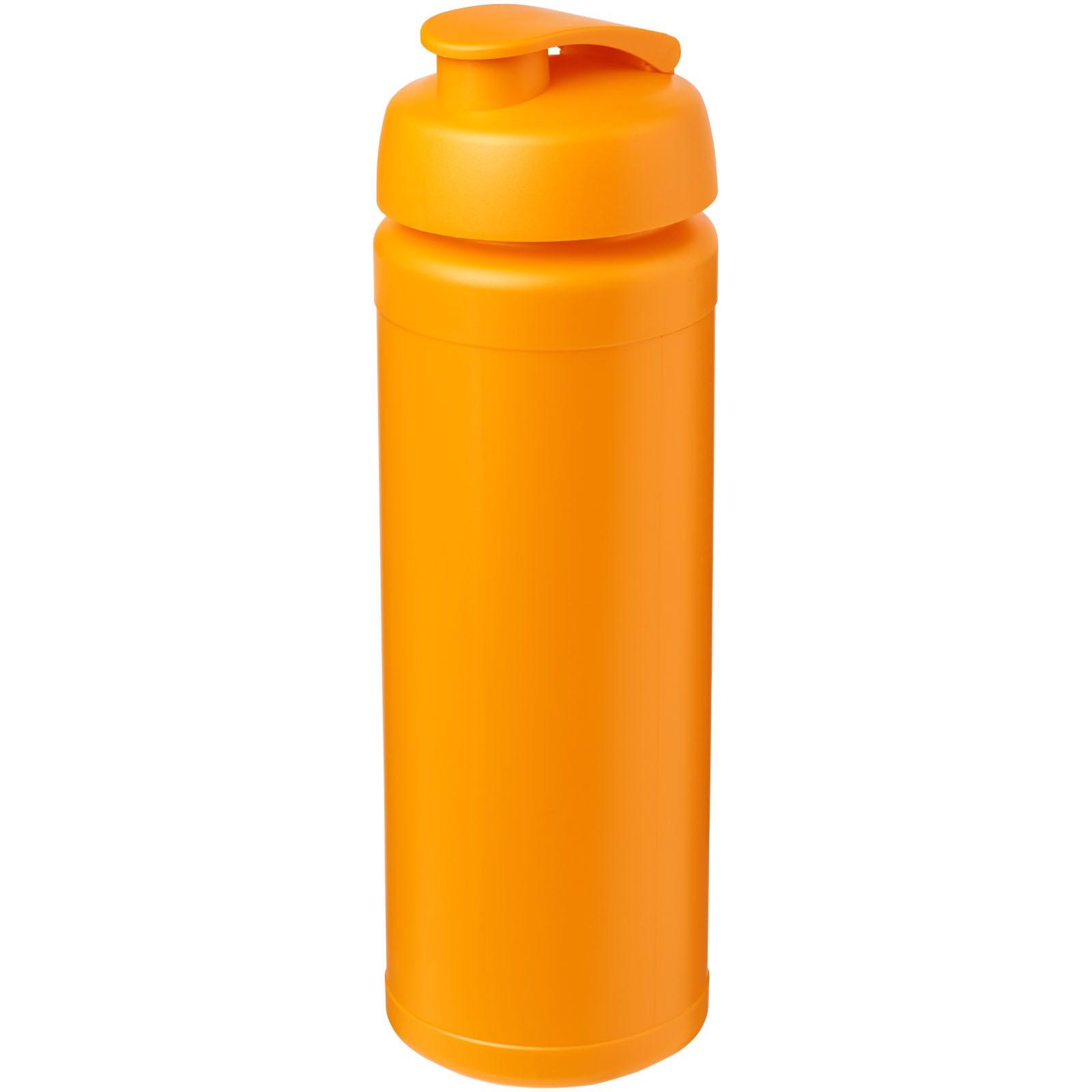 Sportovní láhev s vyklápěcím víčkem Baseline® Plus grip 750 ml - 0ranžová