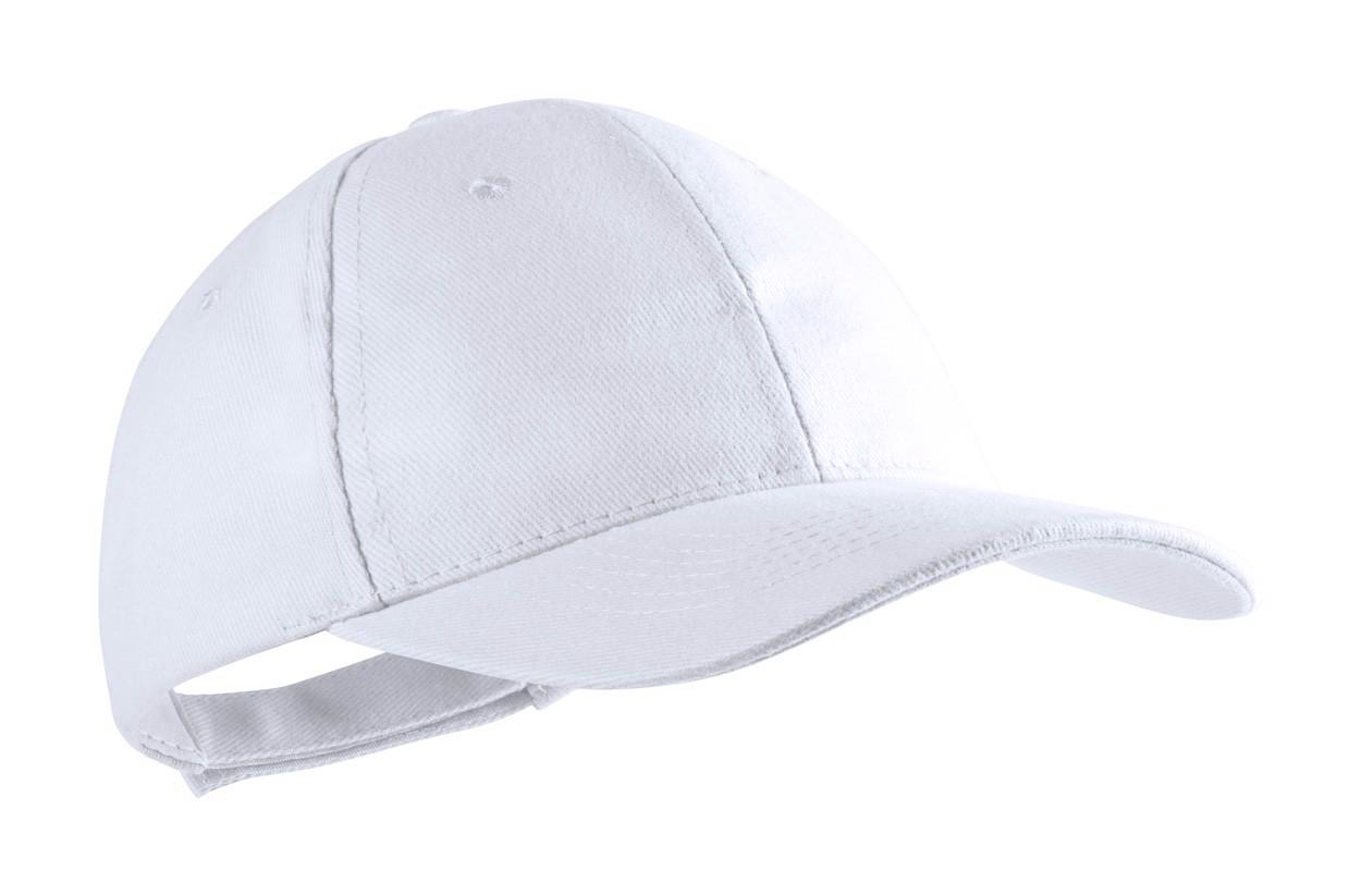 Baseballová Čepice Rittel - Bílá