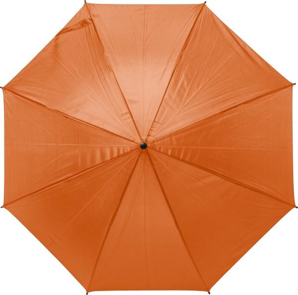 Automatik-Regenschirm 'Harrie' aus Polyester - Orange