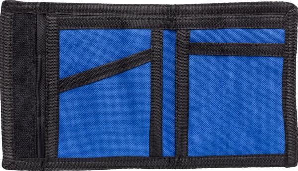 Polyester (190T + 600D) wallet - Black