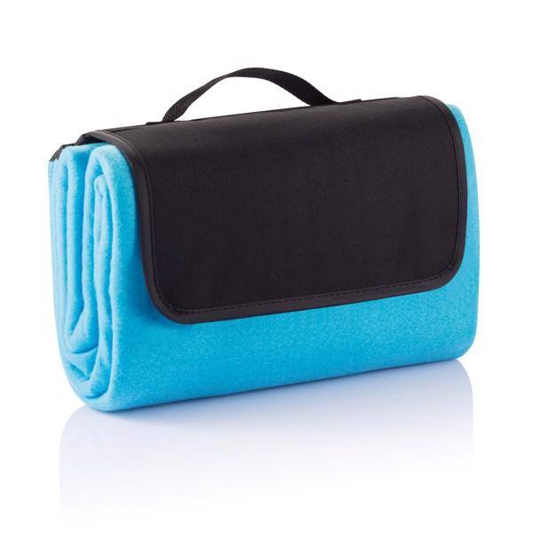 Pikniková deka - Modrá