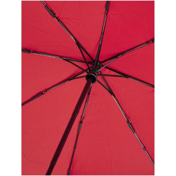 "Paraguas automático plegable material reciclado PET de 21"" ""Bo"" - Rojo"