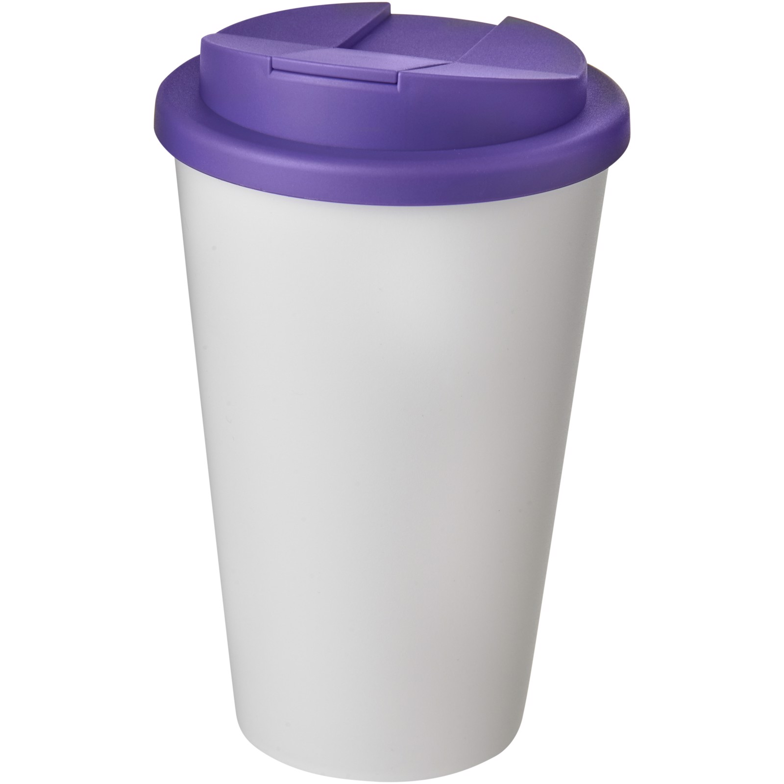 Americano® 350 ml tumbler with spill-proof lid - White / Purple