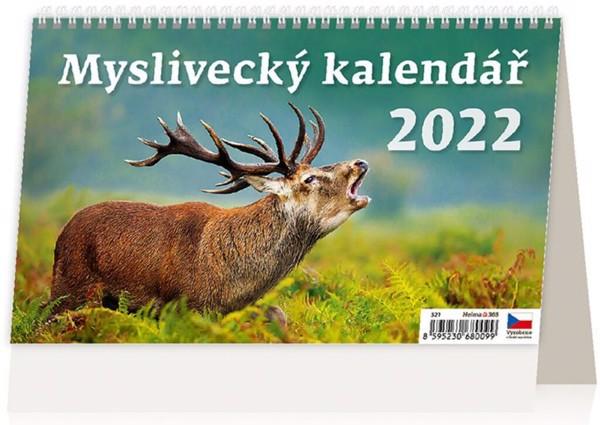 Týdenní kalendář Myslivecký 2022