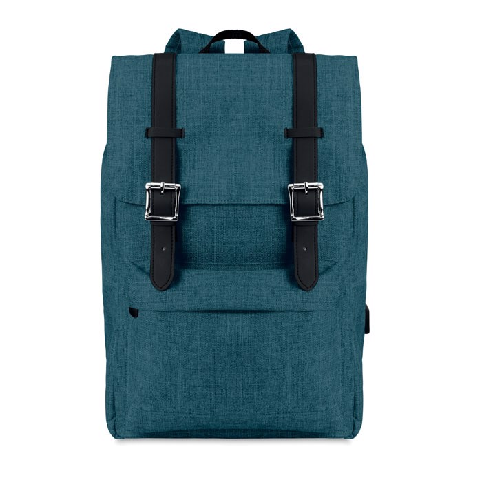 Backpack in 600D polyester Riga - Blue