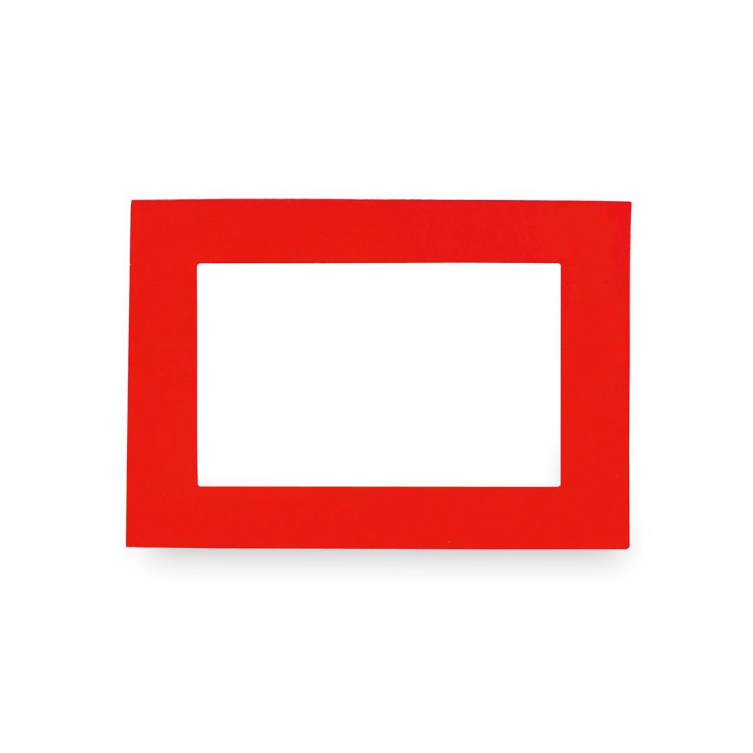 Portafotos Magneto - Rojo