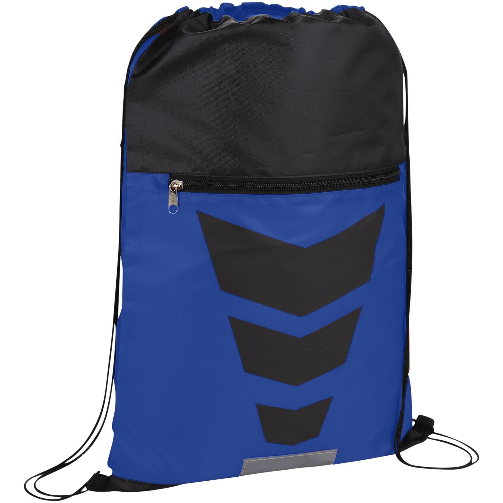 Sportovní batůžek Courtside - Světle modrá / Černá