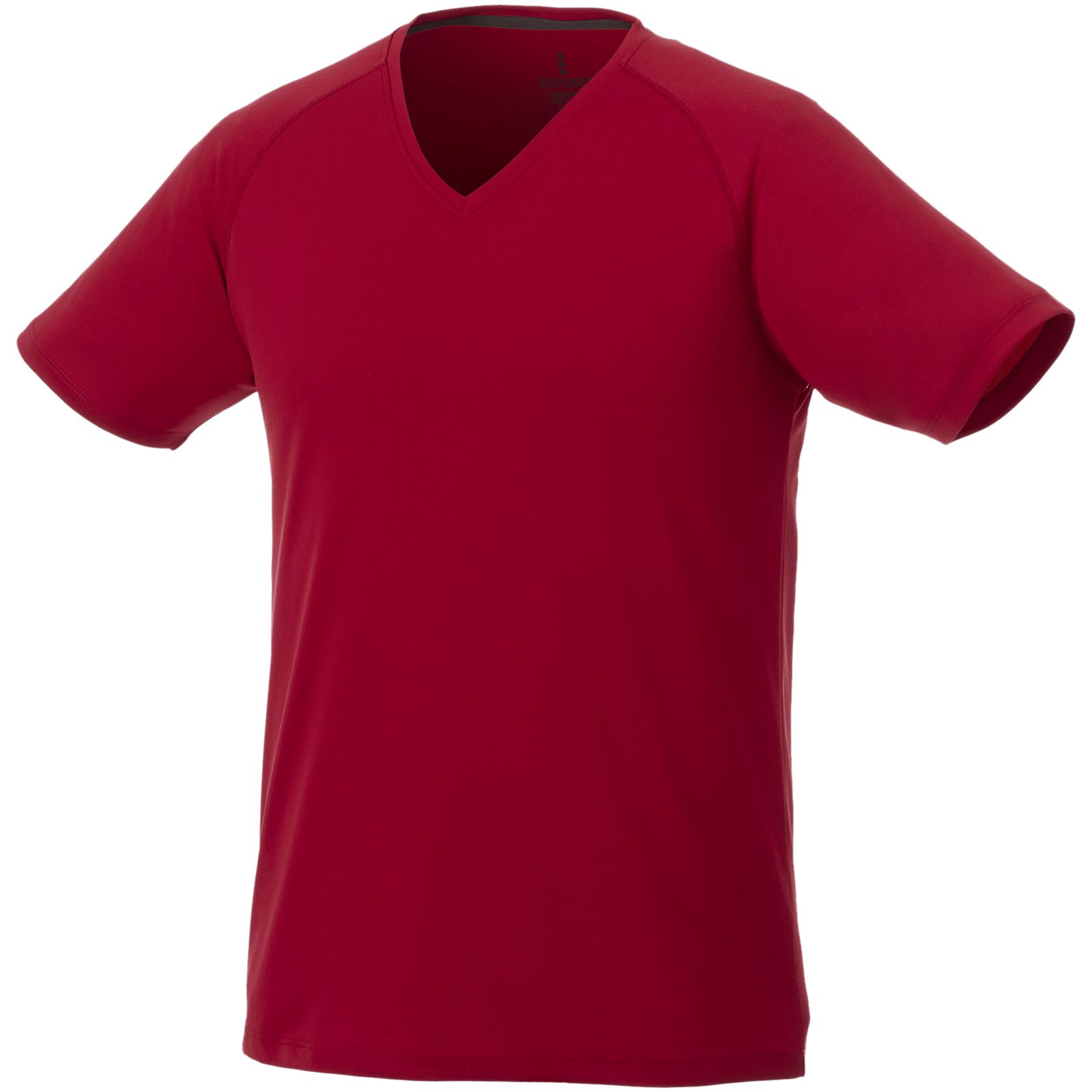Amery short sleeve men's cool fit v-neck t-shirt - Red / XS