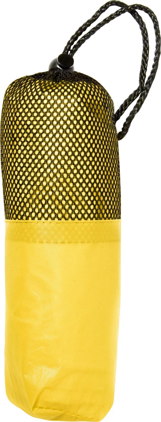 PEVA poncho - Yellow