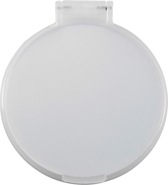 Kosmetikspiegel 'Pocket' aus Kunststoff - White