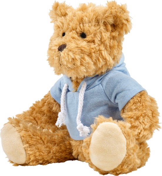 Plush teddy bear - Green