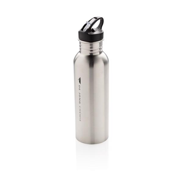 Deluxe aktivitás palack rozsdamentes acélból - Ezüst Színű