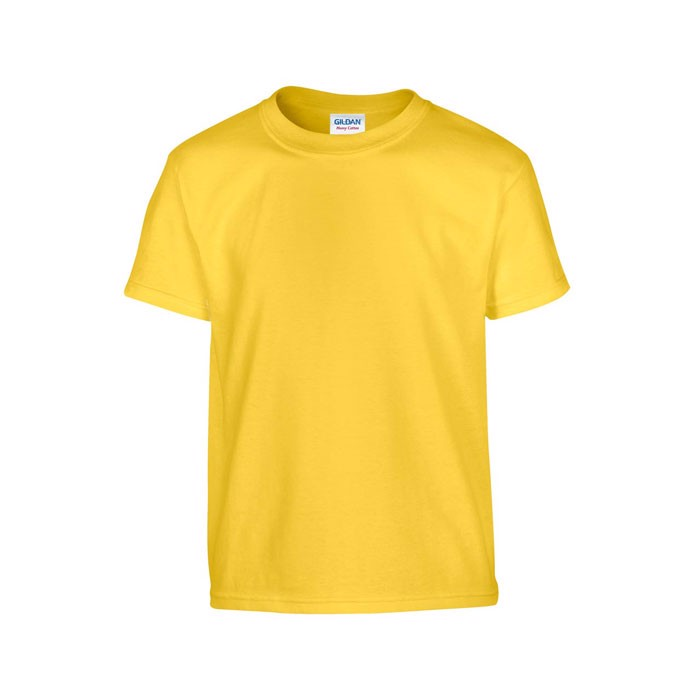 Triko pro mladé 185 g/m² Heavy Youth T-Shirt 5000B - Daisy Yellow / XL