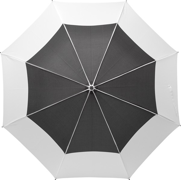 Pongee (190T) umbrella - White