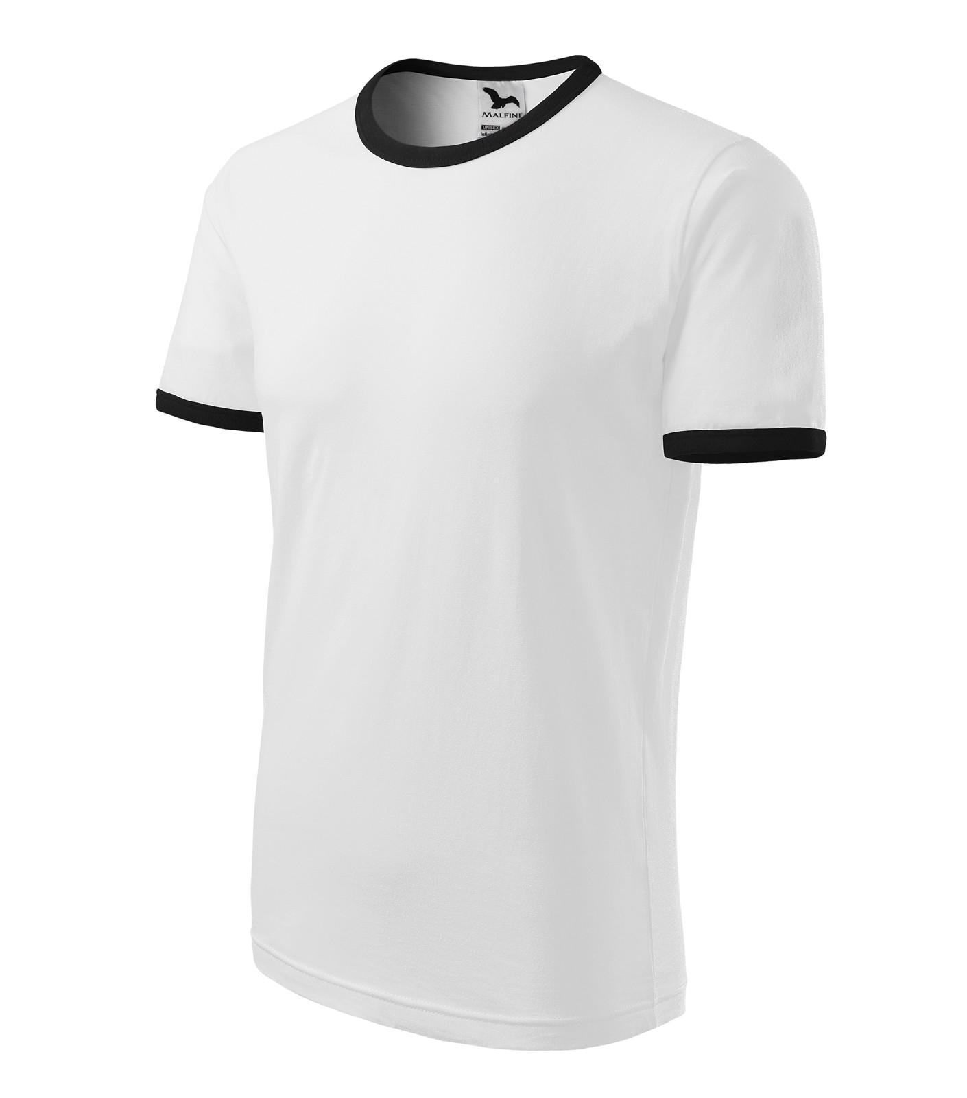 Tričko unisex Malfini Infinity - Bílá / 2XL