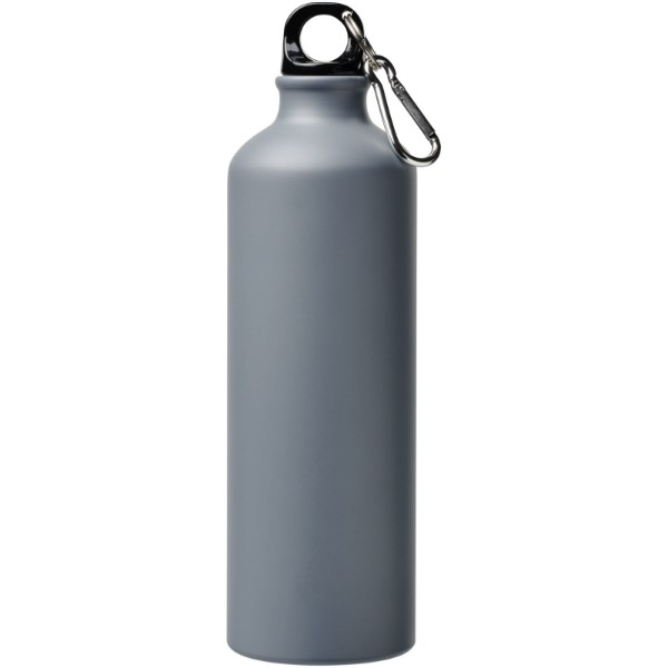 Pacific 770 ml matte Sportflasche mit Karabinerhaken - Grau
