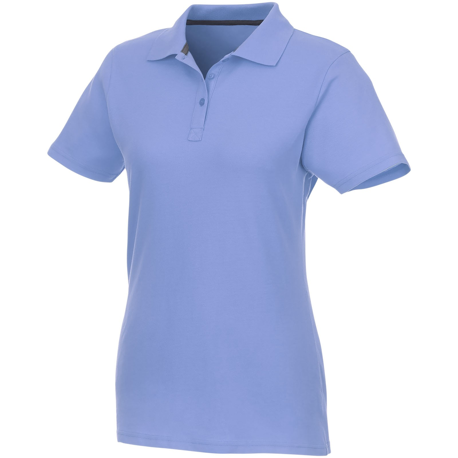 Helios short sleeve women's polo - Light blue / S