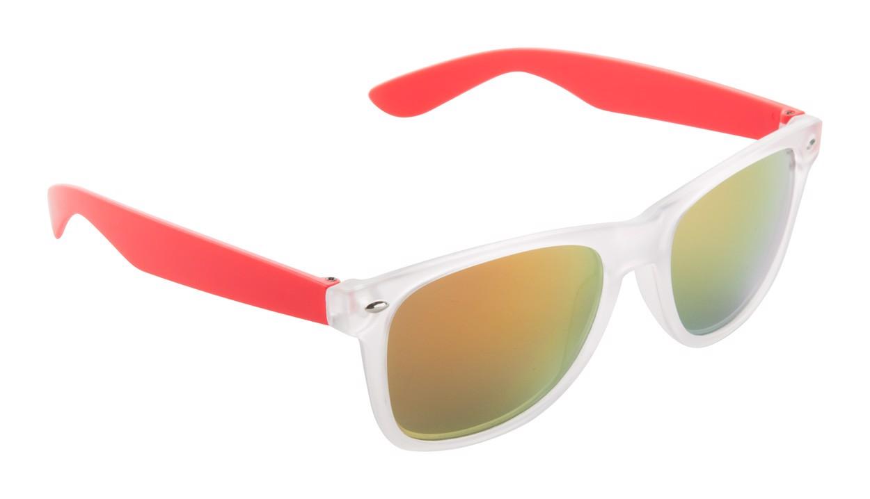 Ochelari De Soare Harvey - Roșu / Alb Sablat