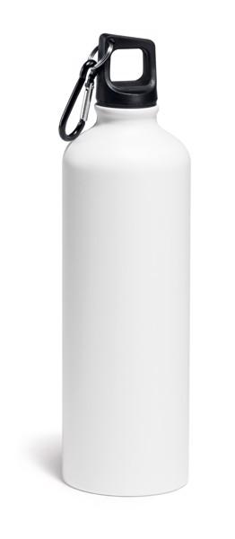 SPORTY. Sports bottle 800 ml - White