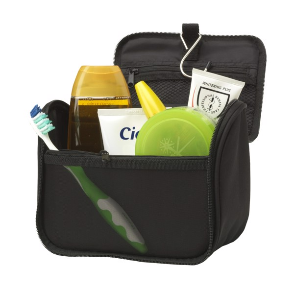 Smart toiletry bag