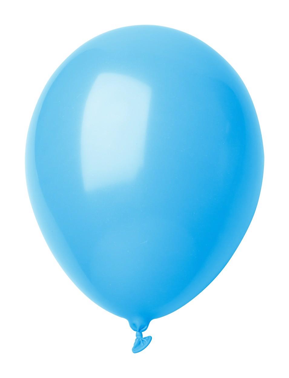 Balonky V Pastelových Barvách CreaBalloon - Světle Modrá